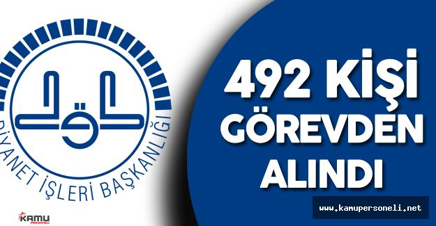 Diyanet'de  Darbe Girişimi Sonrası 492 Kişi Görevden Alındı