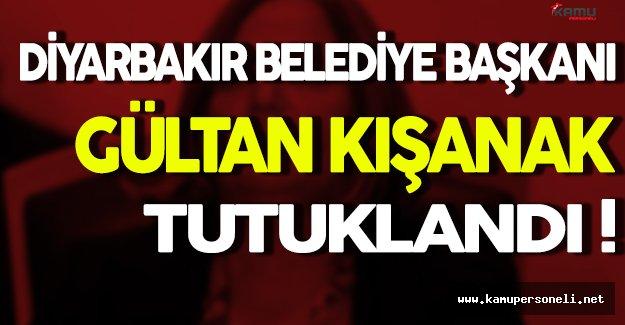 Diyarbakır Belediye Başkanı Gültan Kışanak Tutuklandı