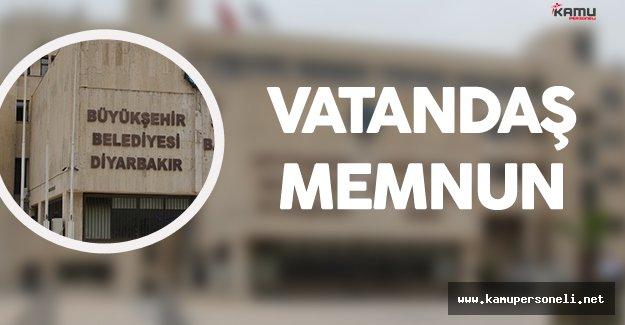 Diyarbakır Büyükşehir Belediyesi Vatandaşın Yüzünü Güldürüyor
