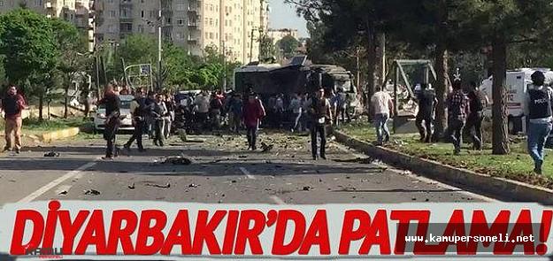 Diyarbakır'da Bombalı Araç Saldırısı