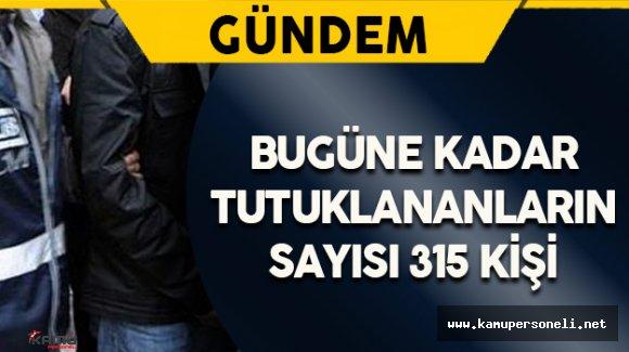Diyarbakır'da Bugüne Kadar 315 Kişi Tutuklandı