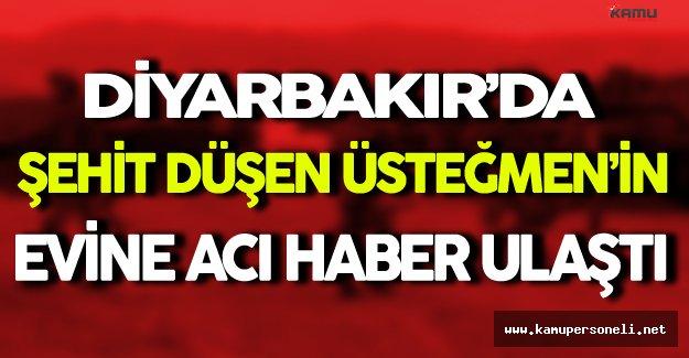 Diyarbakır'da Şehit Düşen Üsteğmen'in Evine Acı Haber Ulaştı
