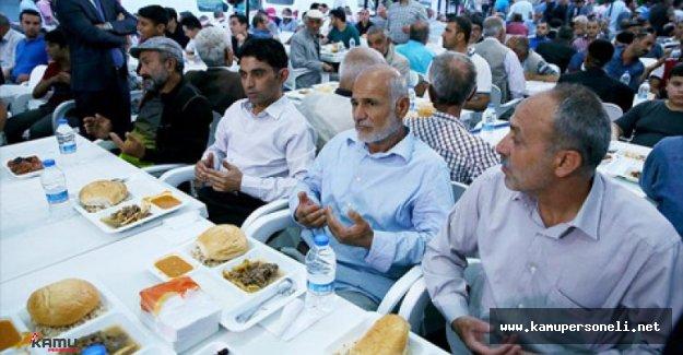 Diyarbakır'da Terör Mağdurları İftar Yemeğinde Buluştular