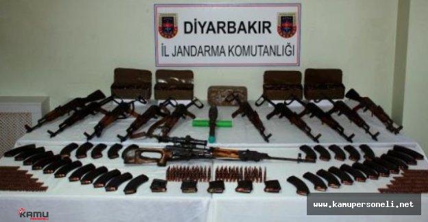 Diyarbakır'da Terör Operasyonları Devam Ediyor ( Ele Geçirilen Mühimmatlar Akıl Dondurucu )