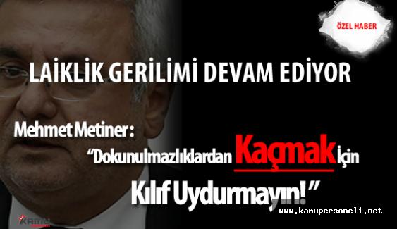 Dokunulmazlık Oylaması Öncesi TBMM Başkanı İsmail Kahraman ve CHP Grubu Arasında Laiklik Gerilimi