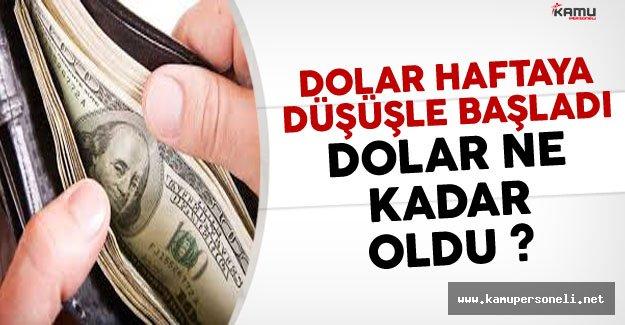 Dolar Haftaya Düşüşle Başladı: Dolar Ne Kadar?