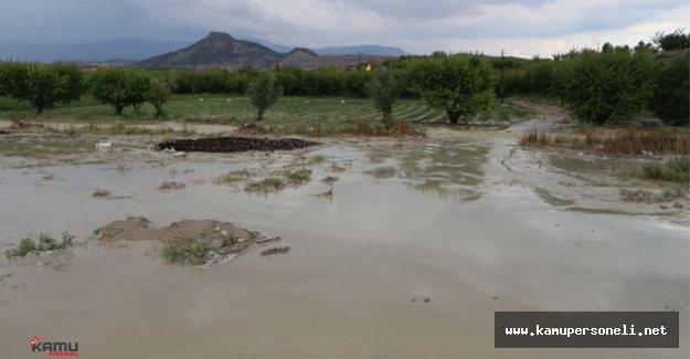 Dolu Yağışı Tarım Alanlarına Büyük Zararlar Verdi