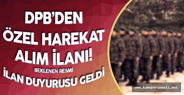 DPB 10 Bin Özel Harekat Polisi Alımı İlan Duyurusu Yayımladı