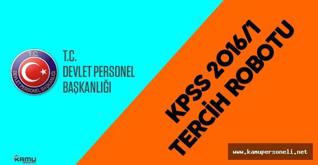 DPB 2016 KPSS/1 Tercih Robotu Yoğun Taleple Karşılaştı