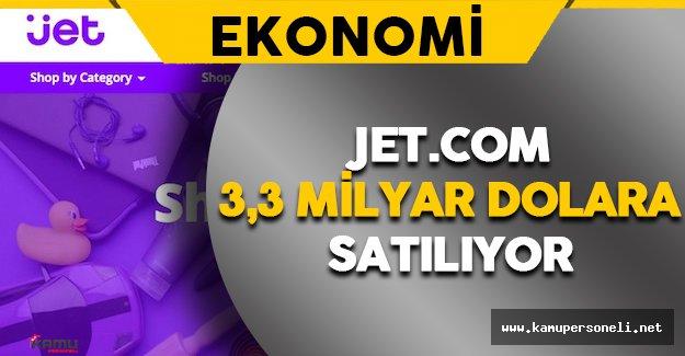 E-ticaret Şirketi Jet.com 3,3 Milyar Dolara Satılıyor