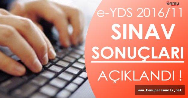 e-YDS 2016/11 Sınav Sonuçları Açıklandı!