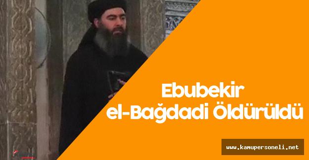 Ebubekir el-Bağdadi Öldürüldü - IŞİD Lideri  Ebubekir el-Bağdadi  Kimdir?