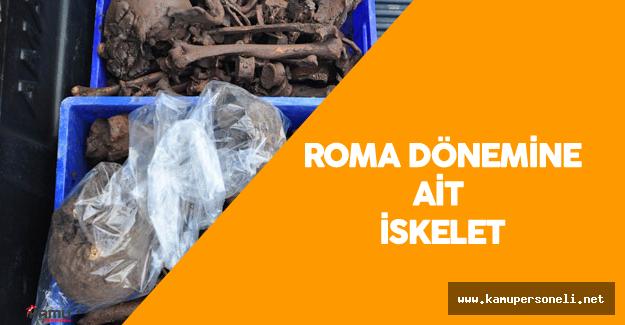 Edirne'de Roma Dönemine Ait Bir İskelet Bulundu