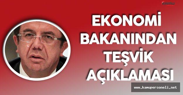 Ekonomi Bakanı Zeybekçi'den Yatırım Teşvik Sistemi Açıklamaları