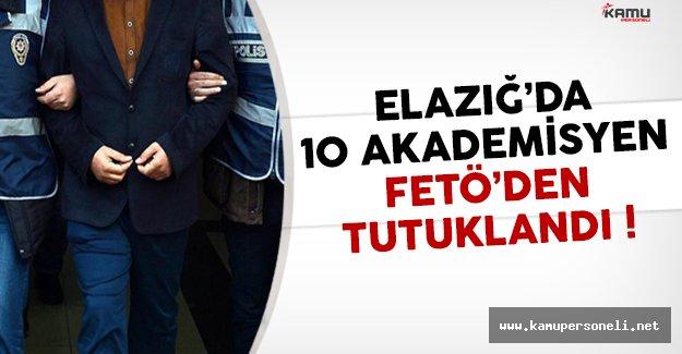 Elazığ'da 10 Akademisyen FETÖ'den Tutuklandı