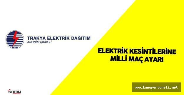 Elektrik Kesintilerine Türkiye İspanya EURO 2016 Maçı Ayarı