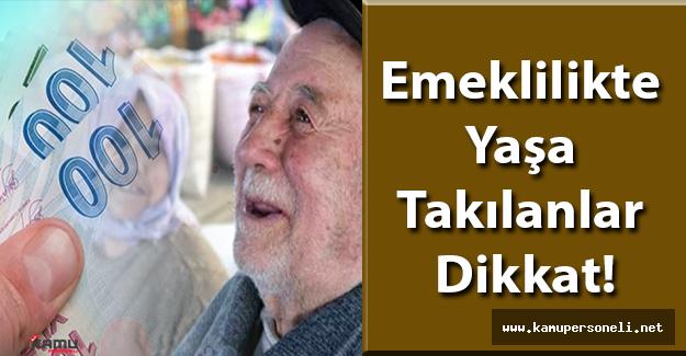 Emeklilikte Yaşa Takılanlar Dikkat! 2016'da Emeklilikte Yaşa Takılanlar İçin Yeni Yasa Çıkacak mı?
