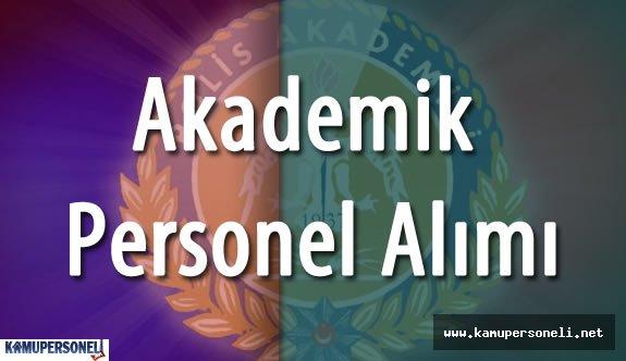 Emniyet Genel Müdürlüğü Polis Akademisi Akademik Personel Alımı