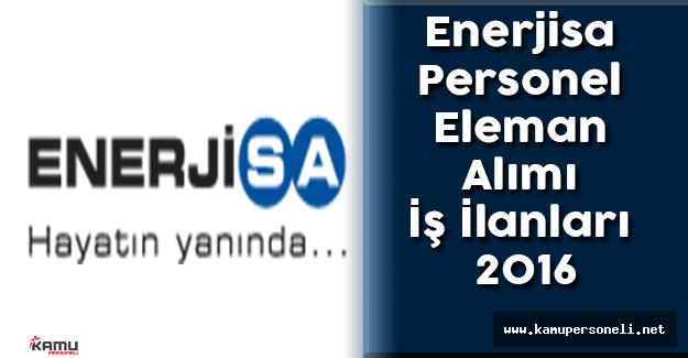 Enerjisa Personel Eleman Alımı İş İlanları 2016