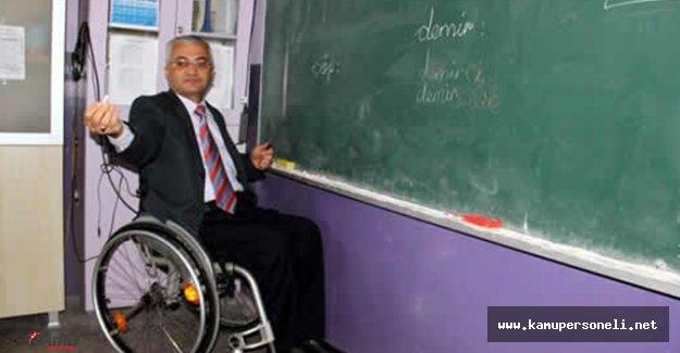 Engelli öğretmen atama sonuçları açıklanıyor