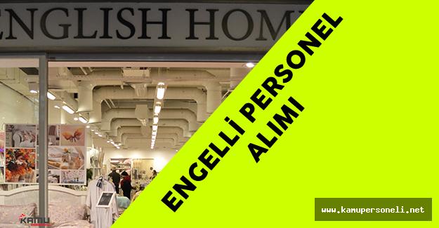 English Home Engelli Personel Alımı Yapacak