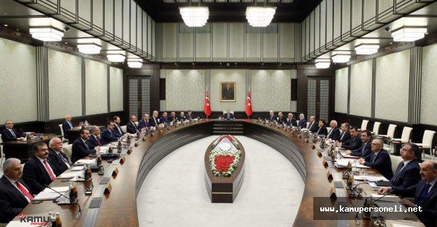 Erdoğan Başkanlığında Bakanlar Kurulu Toplandı