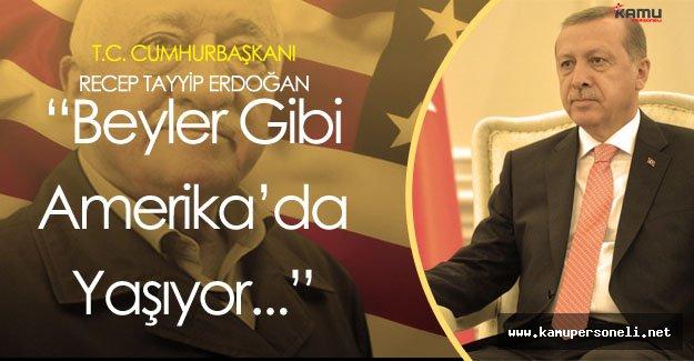 """Erdoğan: """" Bir Teröriste Green Card Verilir Mi?"""""""