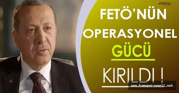 Erdoğan FETÖ'nün Devlet İçinde Yapılanması Hakkında Açıklama Yaptı
