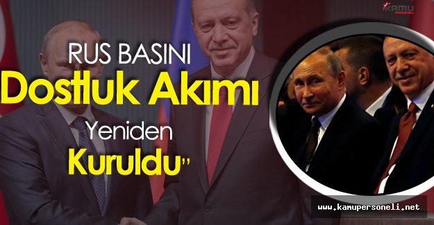 Erdoğan ile Putin Görüşmesi Rus Basınında Geniş Yankı Buldu