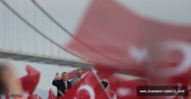 Erdoğan Osmangazi Köprüsü Açılışında Çeşitli Açıklamalarda Bulundu
