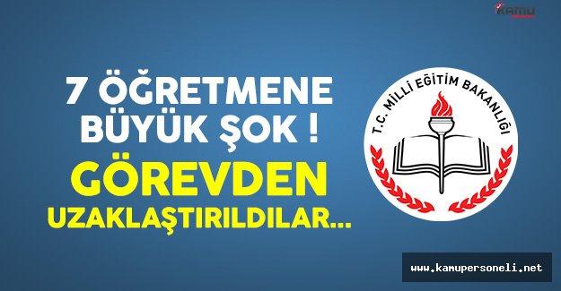 Erzincan'da 7 Öğretmen Terör Faaliyetleri İddiasıyla Görevden Uzaklaştırıldı !