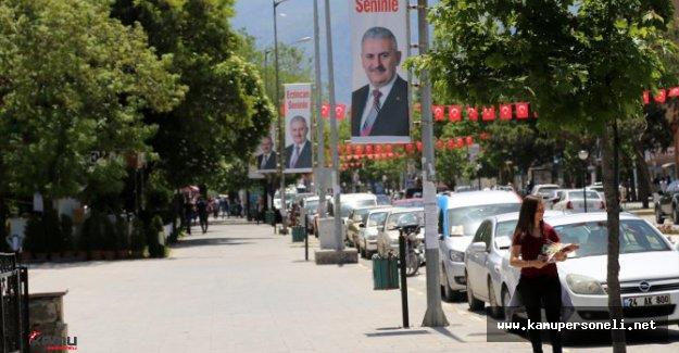 Erzincan'da Binali Yıldırım Heyecanı