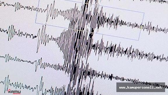 Erzincan'da Korkutan Deprem