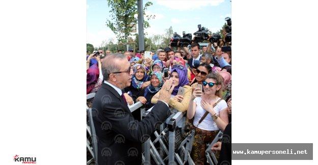 Esenboğa Havalimanı'nda Yapılan Cami İbadete Açıldı