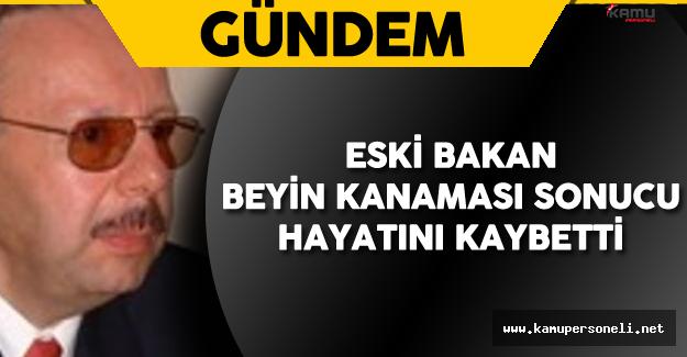 Eski Bakan Hayatını Kaybetti ! Arif Ahmet Denizolgun Kimdir?