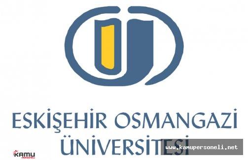 Eskişehir Osmangazi Üniversitesi Akademik Personel Alımı Yapacak
