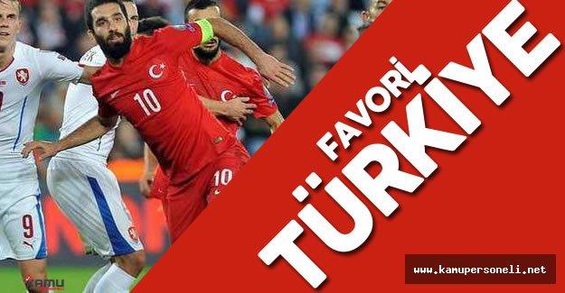 EURO 2016 Çek Cumhuriyeti Türkiye Maçı için Favori Türkiye
