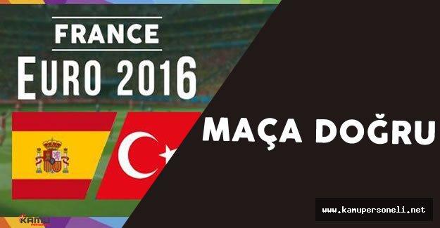 EURO 2016 Türkiye İspanya Maçı İçin Güvenlik Önlemleri Arttırıldı