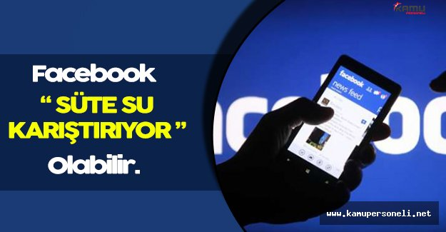 Facebook'a Süte Su Karıştırma İddiası!