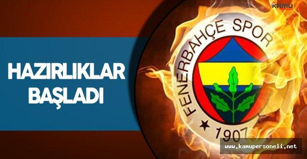 Fenerbahçe Avrupa Ligi Maçı Hazırlıklarını Sürdürüyor