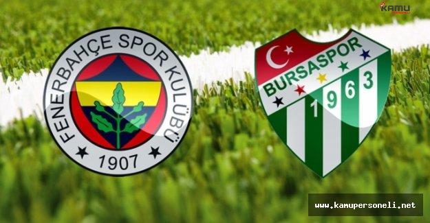 Fenerbahçe'de Bursaspor Maçı Hazırlıkları Sürüyor