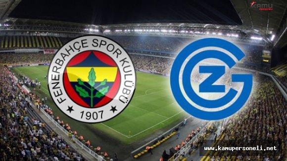 Fenerbahçe Grasshoppers Maçının Hakemi Belli Oldu