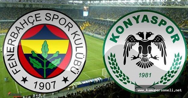 Fenerbahçe Konya Maçı Hazırlıklarına Başladı