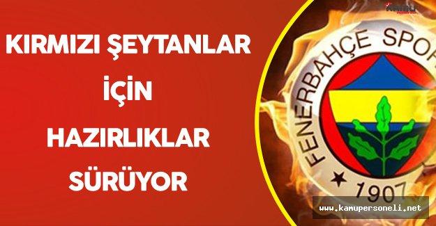 Fenerbahçe Manchester United Maçı İçin Hazırlıklarını Sürdürüyor
