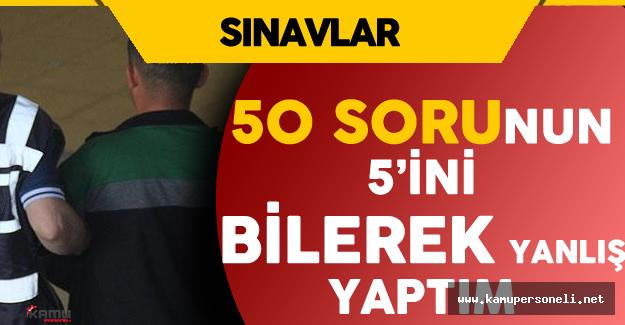 """FETÖ'cü Astsubay'ın İtirafları  """" Sınav Öncesinde Sorular Bize Verildi..."""""""