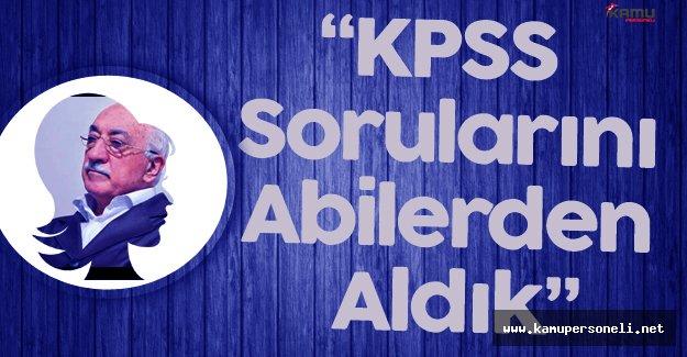 FETÖ'cü Öğretmen 'KPSS Sorularını Abilerden Aldık' Dedi Serbest Bırakıldı