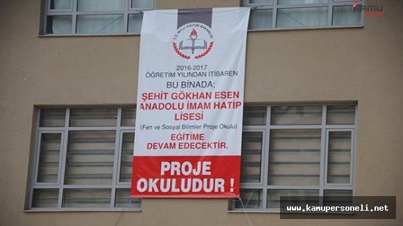 FETÖ'nün El Okuluna Şehit Askerin İsmi Verildi