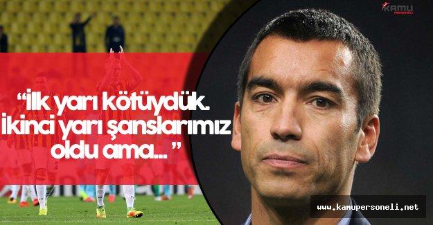 """Feyenoord Teknik Direktörü: """"Burada En Kötü Şey..."""""""