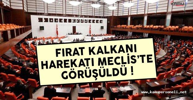 Fırat Kalkanı Harekatı Meclis'te görüşüldü