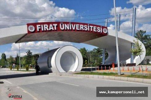 Fırat Üniversitesi Sözleşmeli Personel Alımı Başvuruları Sona Eriyor
